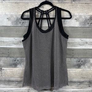 Lane Bryant LIVI athletic tank top